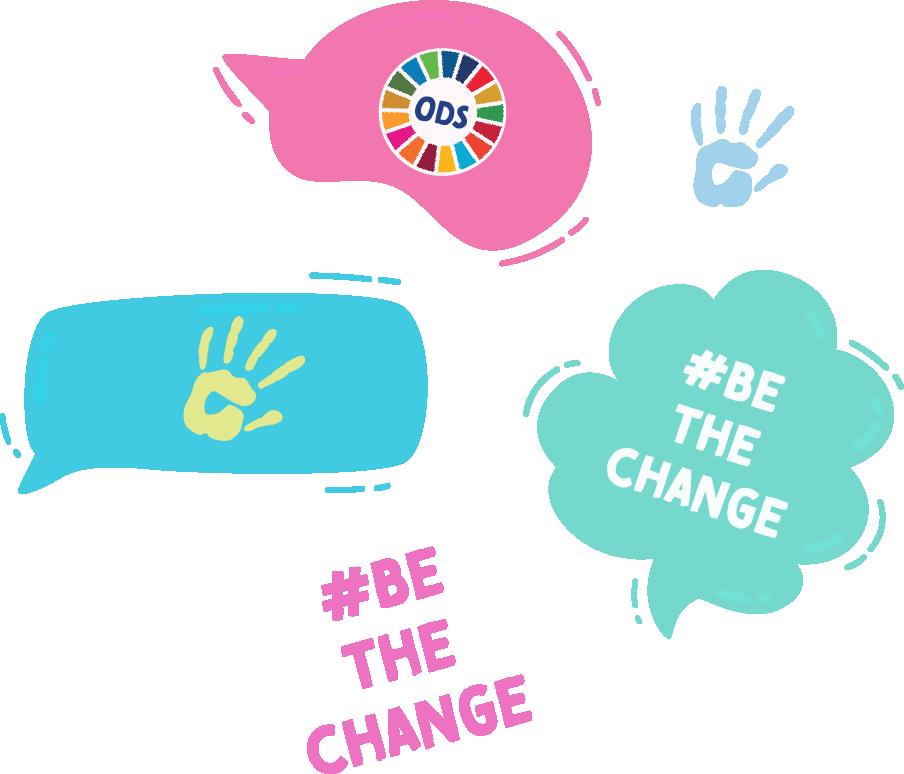 Iconos #BeTheChange